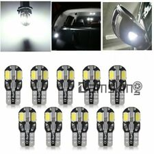 10x T10 12V 8 SMD weiß hell KFZ PKW innenraumbeleuchtung LED Beleuchtung Lampe