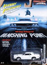 1970 Dodge Challenger R/T Vanishing Point 1:64 Johnny Lightning JLCP6001