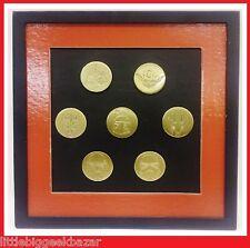 STAR WARS Set de 7 Badges Pin's Collector Saga Etched 2005 lot Metal  # NEUF #