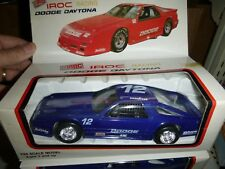 1/24 Vérité Veleur Iroc Dodge Daytona #12 PLASTIQUE Bleu Voiture
