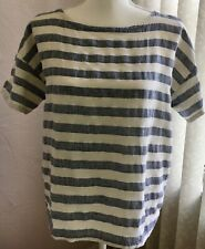 Eileen Fisher linen top XS