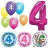 Âge 4 Ans - Joyeux 4th Anniversaire Qualatex Ballons { Hélium Fête Garçon /