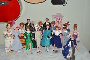 I Love Lucy Barbie Lot of 17