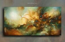 Modern Abstract Art CONTEMPORARY Giclee Canvas Print Steam Punk M.Lang Painting