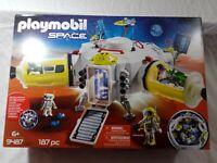 Playmobil Space 9487 Mars Space Station MIB/New