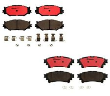 For Lexus IS250 2014-2015 Front and Rear Ceramic Disc Brake Pads Set Kit Brembo