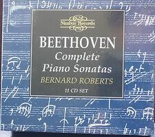 Beethoven Complete Piano Sonatas 11 Cd Boxset Nimbus Bernard Roberts Sealed MINT