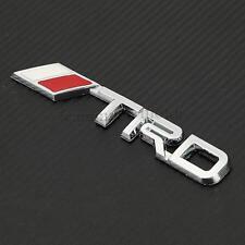 ABS Chrome Auto Car TRD 3D Logo Silver Emblem Badge Sticker Decal for Lexus New