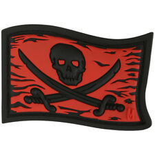 Maxpedition Roger Pirate Vlag 3D Pvc Rubber Badge Moreel Patch Red