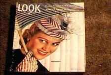 LOOK MAGAZINE 1946 APRIL 16 FINE+ FILE COPY JOAN CAULFIELD FASHION ROY ACUFF