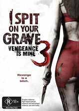I Spit On Your Grave 3 - Vengeance Is Mine : NEW DVD