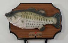 New listing Original Big Mouth Billy Bass Gemmy 1999 Singing Fish Animatronic Motion Sensor