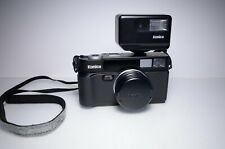 New listing Konica Hexar Af Point and Shoot Film Camera w/ Hx-14 Flash #0027957