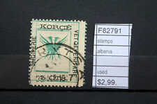 STAMPS ALBANIA USED (F82791)