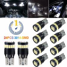 10X LED Super White Lamps Light Bulb T10 W5W 194 168 CANBUS ERROR FREE 6000K
