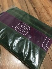 Supreme Polartec® Scarf - DARK GREEN / PURPLE logo Brand new *IN HAND* FW18