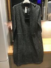 Penny Black Black will & Cotton Dress Long Sleeved L