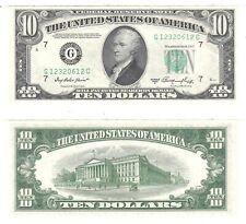 1950-A $10 San Francisco District Federal Reserve Note FR 2011-L AU