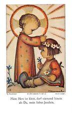 """Fleißbildchen Heiligenbild Gebetbild """" Hummel """" Holy card Ars sacra"""" H635"""""""