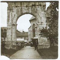 Francia O Italia Ville A Identificare Ca 1920 Foto - Placca Emulsione
