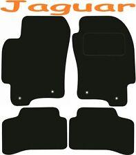 Calidad de lujo a medida Alfombrillas De Coche Jaguar X Type Manual 2001-2009 ** negro **