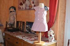 robe neuve cyrillus liberty 9 mois doublee le petit matelot raye rouge blanc