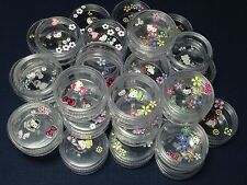 24pcs Hello Kitty Small Plastic Jar Bottle Container Bead nail Jewelry Case  #5