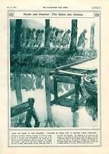 1917 Tuileries Salon des algérien MONTAGNAC Art naufrage village églises