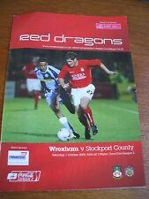 Wrexham v Stockport County 1-10-2005