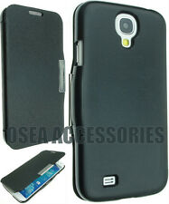 NEW SAMSUNG I9500 GALAXY S4 Leather Case Cover Flip Pouch Back Book Wallet Slim