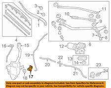 HONDA OEM Windhsield Wiper-Washer Fluid Pump 76846TP6C01