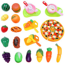 31PCS Kitchen Fruit Vegetable Food Cutting Toy Set Pretend Role Play Kids Funny
