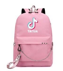 Rare TikTok Backpack Laptop Bag New