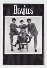 MODERN POSTCARD (large size) - The Beatles fab four music band, John Lennon etc