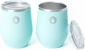 Stainless Steel Insulated Wine Tumblers - Set of 2