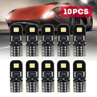 10x Auto T10 LED Canbus Innenraumbeleuchtung Kennzeichenbeleuchtung Birne Lampe