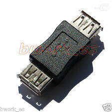 ADAPTADOR CONVERSOR PROLONGADOR USB HEMBRA TIPO A -  EMPALME ALARGADOR