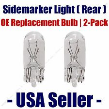 Sidemarker (Rear) Light Bulb 2pk - Fits Listed Dodge Vehicles 168