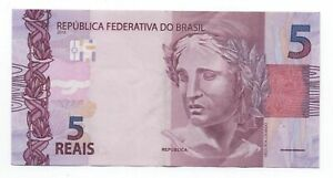 BRAZIL 5 REAIS 2010 PICK 252 LOOK SCANS