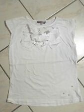 T-SHIRT BLANC OOXOO / MARESE 14 ANS