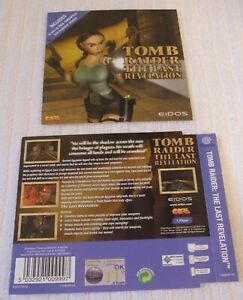 DREAMCAST GAME INLAY/ARTWORK COVERS  *** TOMB RAIDER - THE LAST REVELATION ***