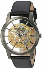 Kenneth Cole New York Men's ' Japanese Automatic Steel and Leather 10031272
