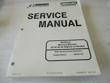 1997 Mercury Mariner Models 40/45/50 BigFoot 4-stroke Service Manual 90-828631R2