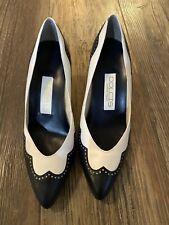 Vintage Dolcis Waltz Womans Upper Leather Heels  Size 8M