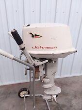 Johnson 10 HP SS Tiller Outboard Motor Boat Engine 6 7.5 9.5 9.9 10 15 Manual S