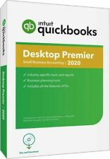 Intuit QuickBooks Desktop Premier 2020 Accounting Software for Windows