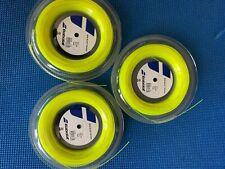 Babolat RPM Blast Rough 16G 1.30mm (yellow) 660ft 200m Reel Tennis String