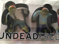 UNDEADFRED Zombie Cookie Cutters Set 3 NEW Plastic The Walking Dead