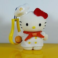Vintage McDonald's Sanrio Hello Kitty Keyring Holder Chef Theme Kawaii Doll