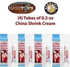 Original China Shrink Cream 4-Pack, Vaginal Muscle Tightening 0.5oz ea. NassToys
